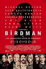 BIRDMAN RED DESIGN MOVIE POSTER FILM A4 A3 ART PRINT CINEMA
