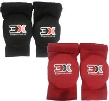 3xsports KNEE PADS Supporto MMA Foam Pad Guardia Protettore UFC allenamento calcio Boxe
