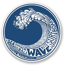 2 x Surf Kite Board Sticker Car Bike iPad Laptop Decal Hawaii Bali Wave #4196/SV