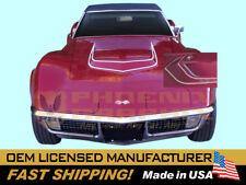 1970 1971 1972 Corvette C3 Big Block or LT-1 VINYL Hood Stripes