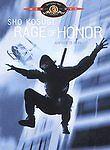 Rage of Honor DVD, Shô Kosugi, Lewis Van Bergen, Robin Evans, Gerry Gibson, Char