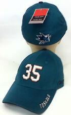 NHL Hockey San Jose Sharks Reebok Cap Hat Flex OSFA Toskala #35