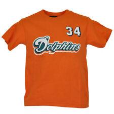 NFL Reebok Miami Dolphins Ricky Williams 34 Ragazzi Bambini Maglia Autorizzato