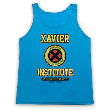 XAVIER INSTITUTE UNOFFICIAL TANK TOP CHARLES X-MEN VEST SLEEVELESS T SHIRT SIZES