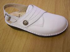 Finn Comfort veracruz-s en blanco con correas Soft plantilla! incl. bolsas de zapatos