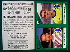 CALCIATORI 1987-88 87-1988 n 416 MODENA SERIE B - Figurine Panini con velina