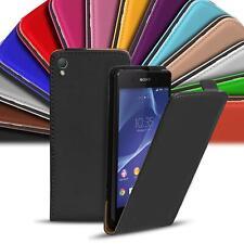 Sony Xperia Z2 Handy Tasche Flip Case Cover Schutz Hülle Slim Klapp Etui Schale