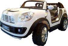 Macchina elettrica auto per bambini Mini Cooper Beachcomber 12V con MP3