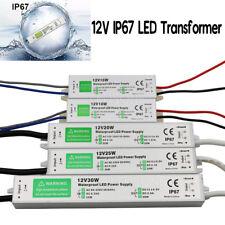 LED Netzteil Wasserdicht IP67 DC12V 10W 15W 20W 30W 36W Trafo Driver