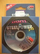 Damyl Schnur Angelschnur Steelpower VS 0,16 mm Inhalt: 2x 100 m 2,4 kg, Sehne