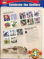 USA 1998 SECOLO/1930 S/Treno/BRIDGE/Libri/GOLF/Libri/BUILDING 15 V Sht (b9648e)