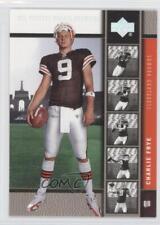 2005 Upper Deck NFL Players Rookie Premiere Platinum #6 Charlie Frye Card