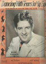 DANCING WITH TEARS IN MY EYES - Rudy Vallee (1930)