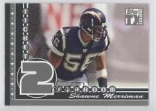 2007 Topps TX Exclusive Ticket 2 Stardom Silver #ST-SM Shawne Merriman Card