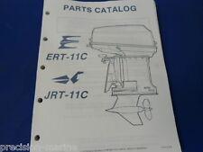 1987, ERT-11C   JRT-11C OMC Evinrude Johnson Parts Catalog