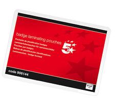 BADGE Laminazione Plastificazione BUSTE Gloss 67x97mm - 906144