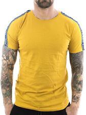 Sublevel T-Shirt Sport One 1052 dark yellow Neu Männer Herren Freizeit Shirt