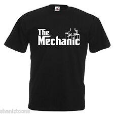 MECCANICO Adulti Da Uomo T Shirt 12 Colori Taglia S - 3XL