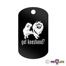 Got Keeshond Engraved Keychain Gi Tag dog kees Many Colors