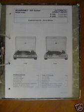 Service MANUAL Blaupunkt p-150/240 Plattensp, ORIGINALE