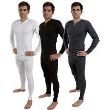 Men All in One Union Winter Warm Ski Thermal Underwear Onsie Boiler Suit Zip Up