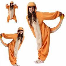 Pokemon Charmander Kigurumi Unisex Adult Animal Onesies Cosplay Costume Pajamas