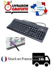 CLAVIER PS2 PS/2 AZERTY FILAIRE WYSE ETAT NEUF ORDINATEUR PC INFORMATIQUE