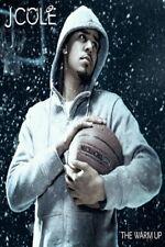 63503 J COLE The Warm Up 2009 Album Basketball Rap FRAMED CANVAS PRINT UK