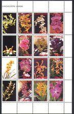Surinam 2006 Orchids/Flowers/Plants/Nature/Horticulture 12v set blk (n36519)