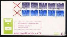 FDC Philato met postzegelboekje 47a