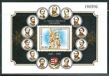 HUNGARY-1989.Souv.Sheet - Martyrs of Arad MNH! Mi Bl.206