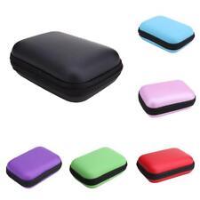 Mini Square EVA Case Headset Bluetooth Earphone Cable Storage Box New