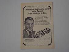 advertising Pubblicità 1956 CREMA DA BARBA PALMOLIVE