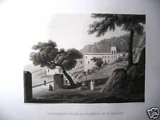 M Santuario Santa Rosalia Palermo Sicila  Gigault de la Salle 1824