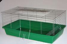 1m Hasenkäfig Nagerkäfig Kaninchenkäfig Käfig Stall Meerschweinchen 5 Farben Top