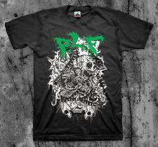 P.L.F. 'Spikes' T shirt (Insect Warfare Phobia Napalm Death Terrorizer Assuck)