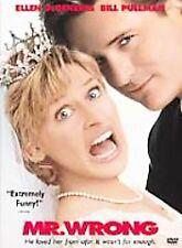 Mr. Wrong (DVD, 2002)  Ellen DeGeneres  RATED PG-13