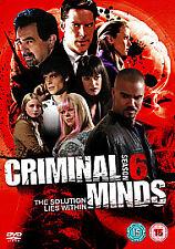 Criminal Minds - Series 6 - Complete (DVD, 2011, 6-Disc Set) NEW SEALED REGION 2