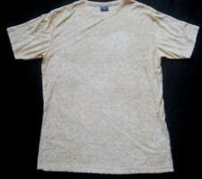 MILLS Damen T-Shirt gemustert in Hellgelb