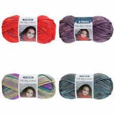 Patons Fab Big Colour 100% Acrylic Super Chunky Knitting Yarn Wool 200g Ball