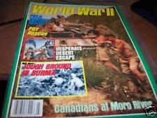 World War II Magazine 3/1989 Canadians at Moro River