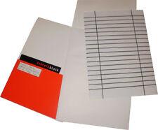 Schreibblock A5 50 Blatt, weiß, blanko, 10 Blöcke eingeschweißt