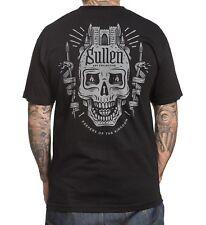Sullen Pin Up Punk Street Bike Gothic Americana Tattoo Art Mens Tee KEEPERS