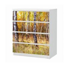 Ikea Malm Kommode 4 Schubladen Birke Günstig Kaufen Ebay