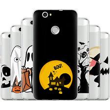 dessana Halloween Muster Silikon Schutz Hülle Case Handy Tasche Cover für Huawei