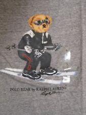 Polo Ralph Lauren LIMITED EDITION Polo Bear Tshirt NWT Gray, Ski Bear