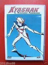 Kyashan Il Ragazzo Androide DVD N° 3 Dynit usato come nuovo 5 Episodi 125 Minuti