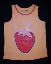 LOLA ET MOI - PROMO -60% - Débardeur Summer Strawberry - Neuf avec étiquette