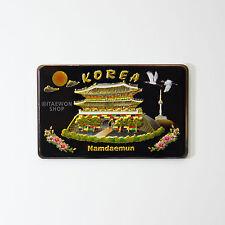 Fridge Magnet Namdaemun South Gate Seoul Korea Refrigerator Magnets Memo Holder