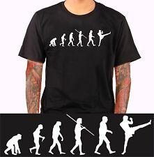 MuayThai Evolution Kickboxen Kampfsport Kung Fu Karate MMA T-Shirt Shirt hbs74